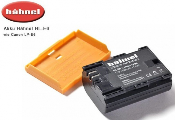 HÄHNEL Battery Canon HL-E6